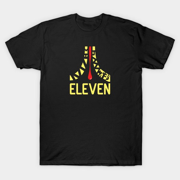 eleven - Stranger Things T-Shirt by TrulyMadlyGeekly - The Shirt List