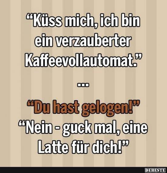 Kuss sprüche lustig