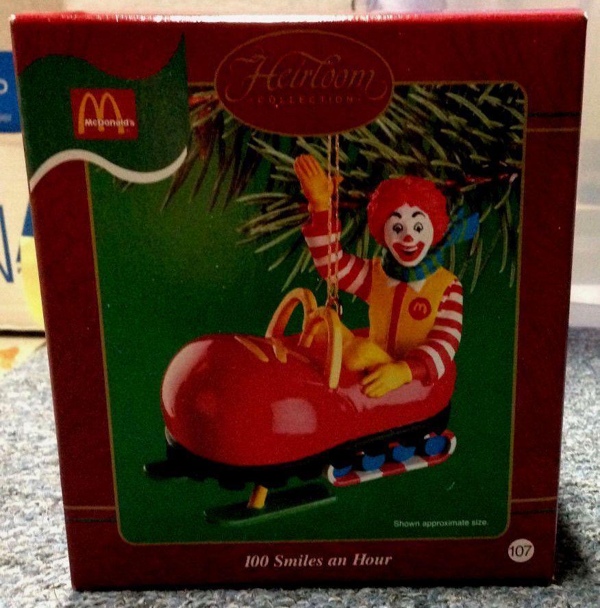 Mcdonalds Christmas Ornament.Carlton Cards Ronald Mcdonald Christmas Ornament Christmas