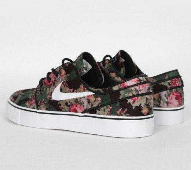 Nike Janoski Damen Floral