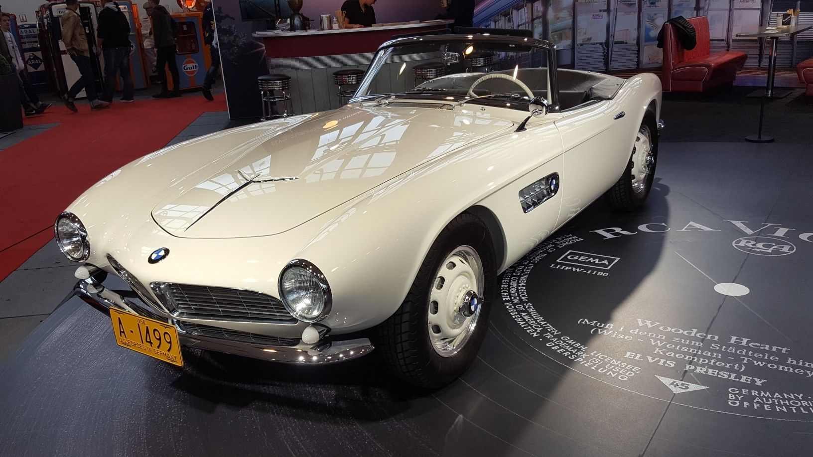 Bmw 507 Elvis Presley 1957 Restauriert Bmw Classics Bmw