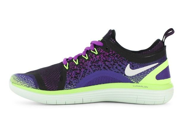 a77962c34959 NIKE Womens Free RN Distance 2 Hyper Violet   White