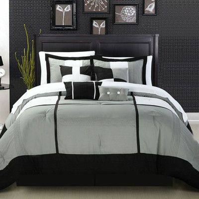 Superb Chic Home Dorchester 12 Piece Comforter Set U0026 Reviews | Wayfair