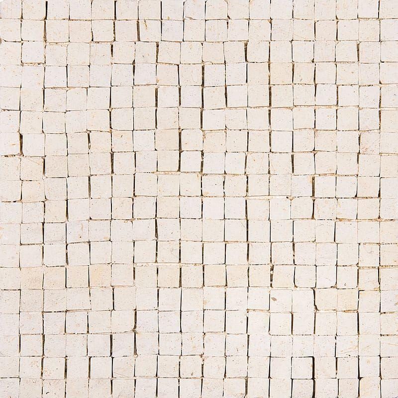 Melange Honed Limestone Mosaics 8x8 Country Floors Of America Llc In 2020 Mosaic Limestone Bathroom Floor Limestone