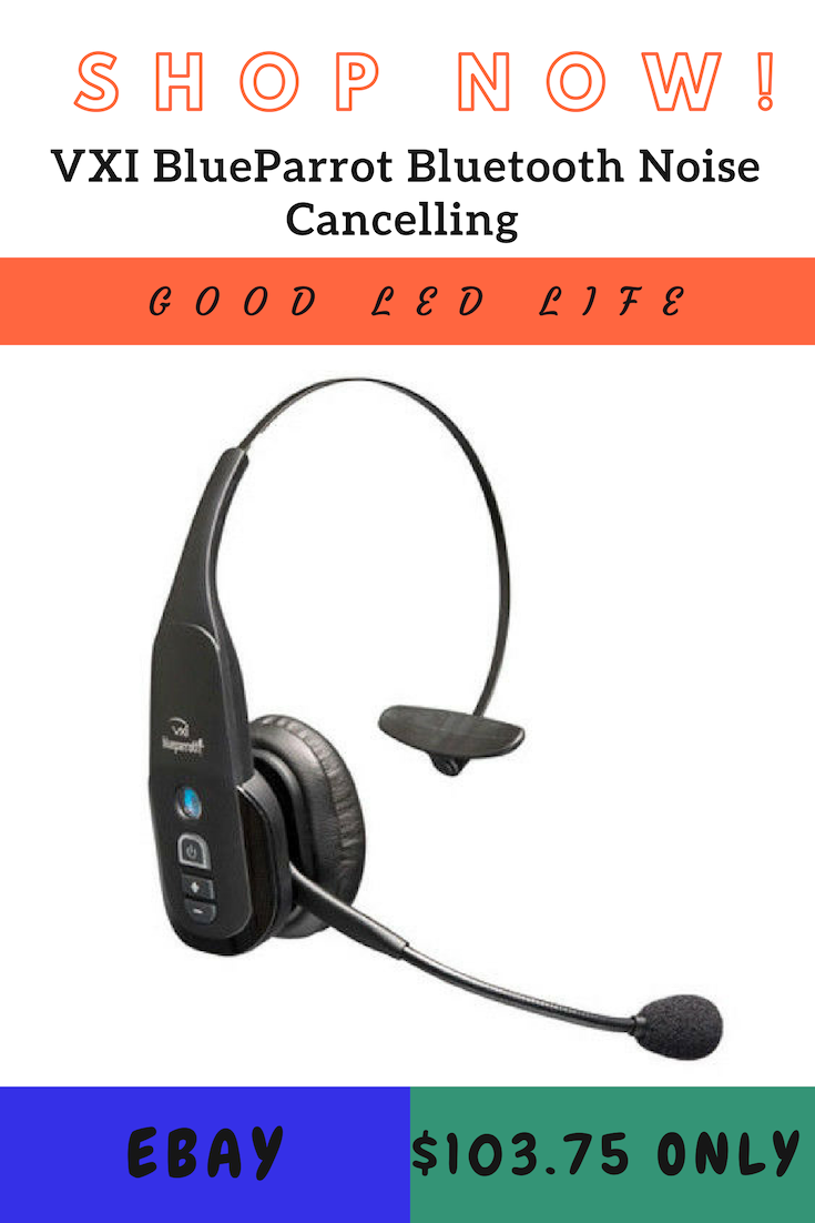 0f07c5d8c1e VXI BlueParrot Bluetooth Noise Cancelling Cell Phone Headset Trucker  Refurbished.