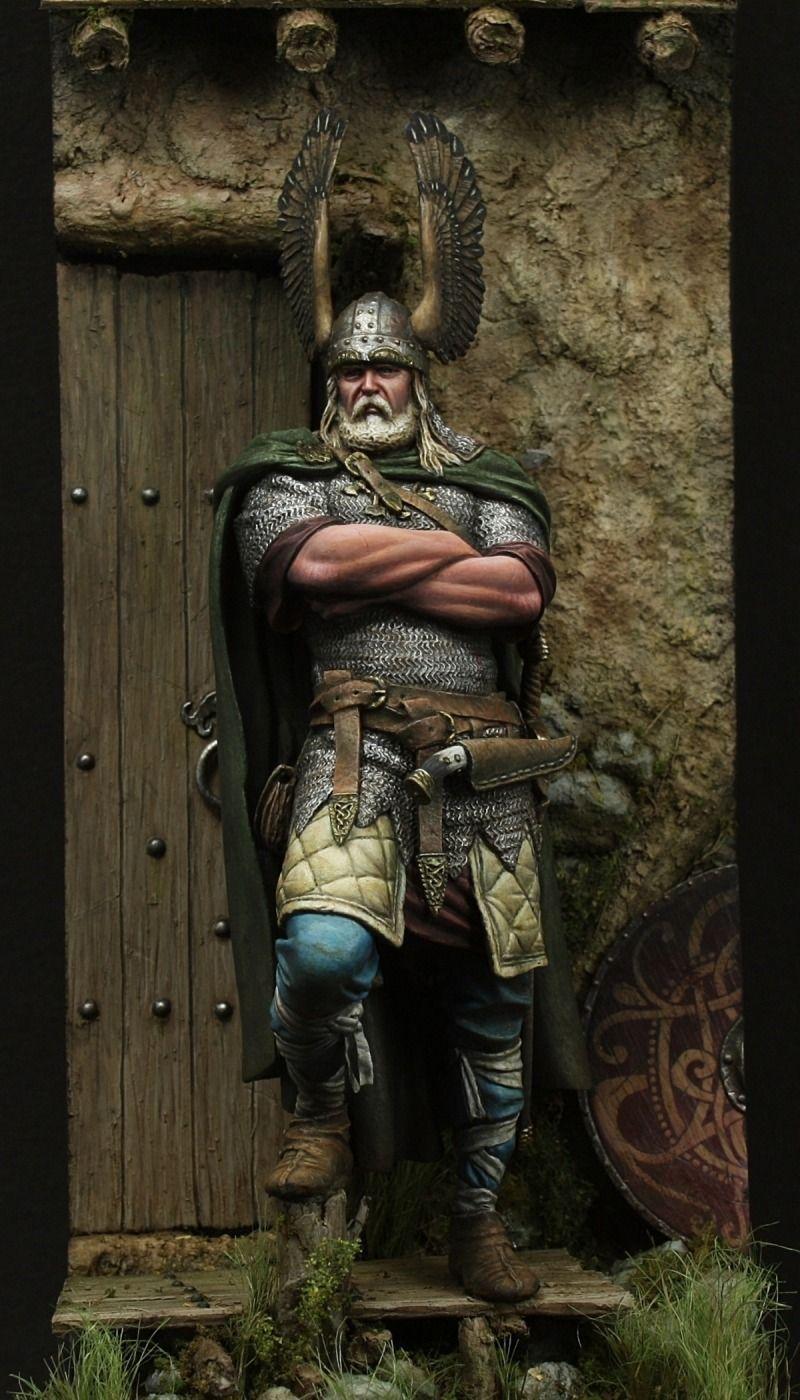 Viking Chief - Modelling … | Nordisk mytologi, Mytologi, Vikinger