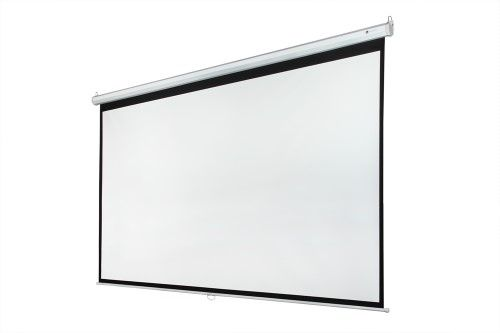 "Homegear 118"" 1:1 Manual Pull Down Projector Screen (84"" x 84"")"
