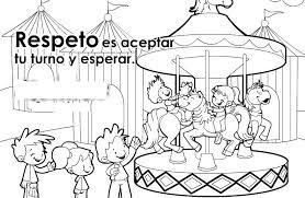 Resultado De Imagen Para Solidaridad Para Niños De Preescolar Educar En Valores Valores En Los Niños Dibujos De Los Valores