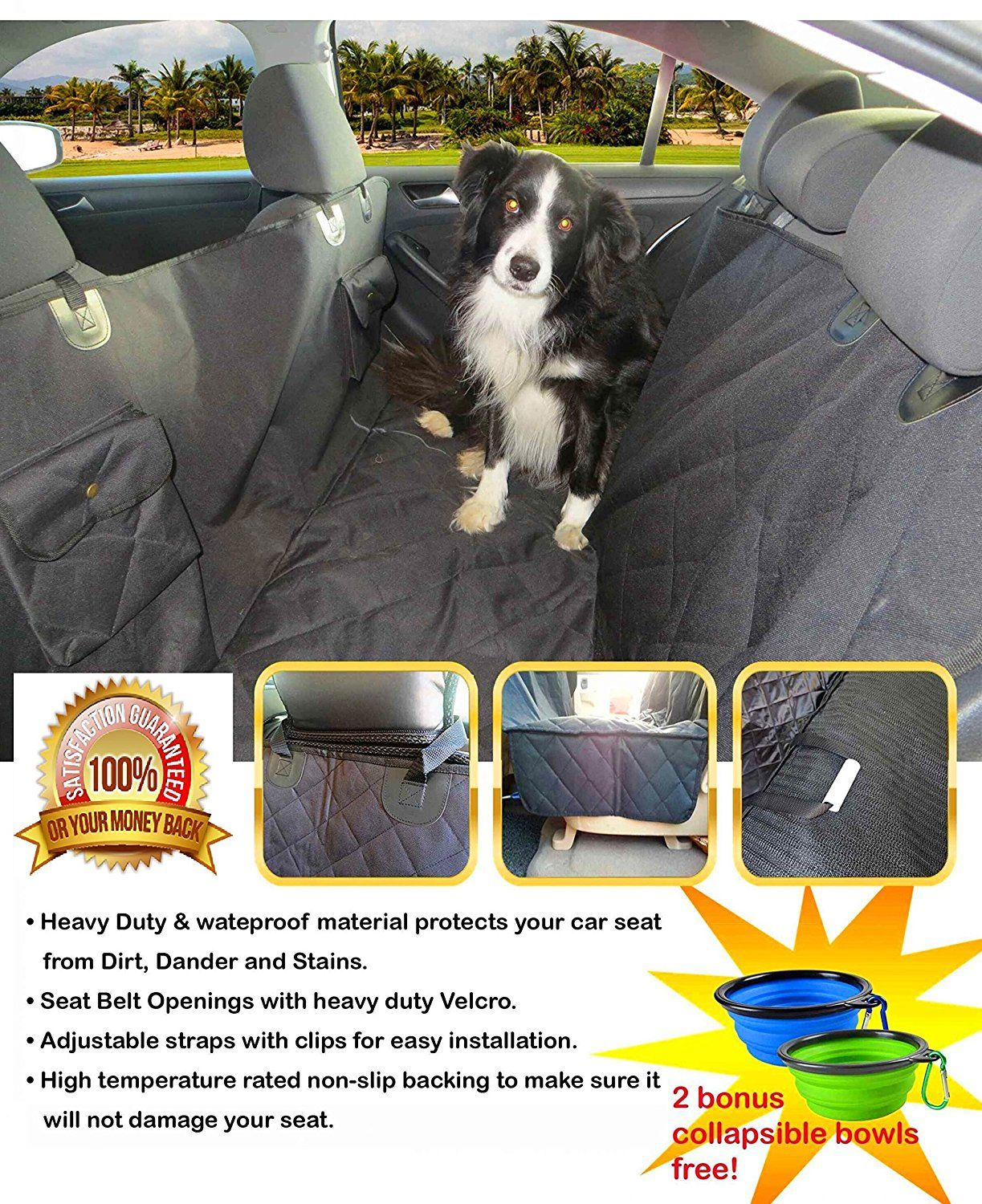Dog Seat Covers for Cars, Trucks and Suvs. Dog Seat Cover