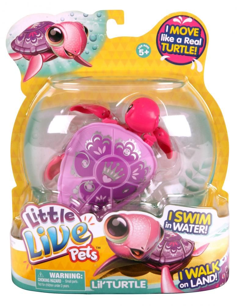 Little Live Pets S2 Lil Turtle Single Pack Moose Toys
