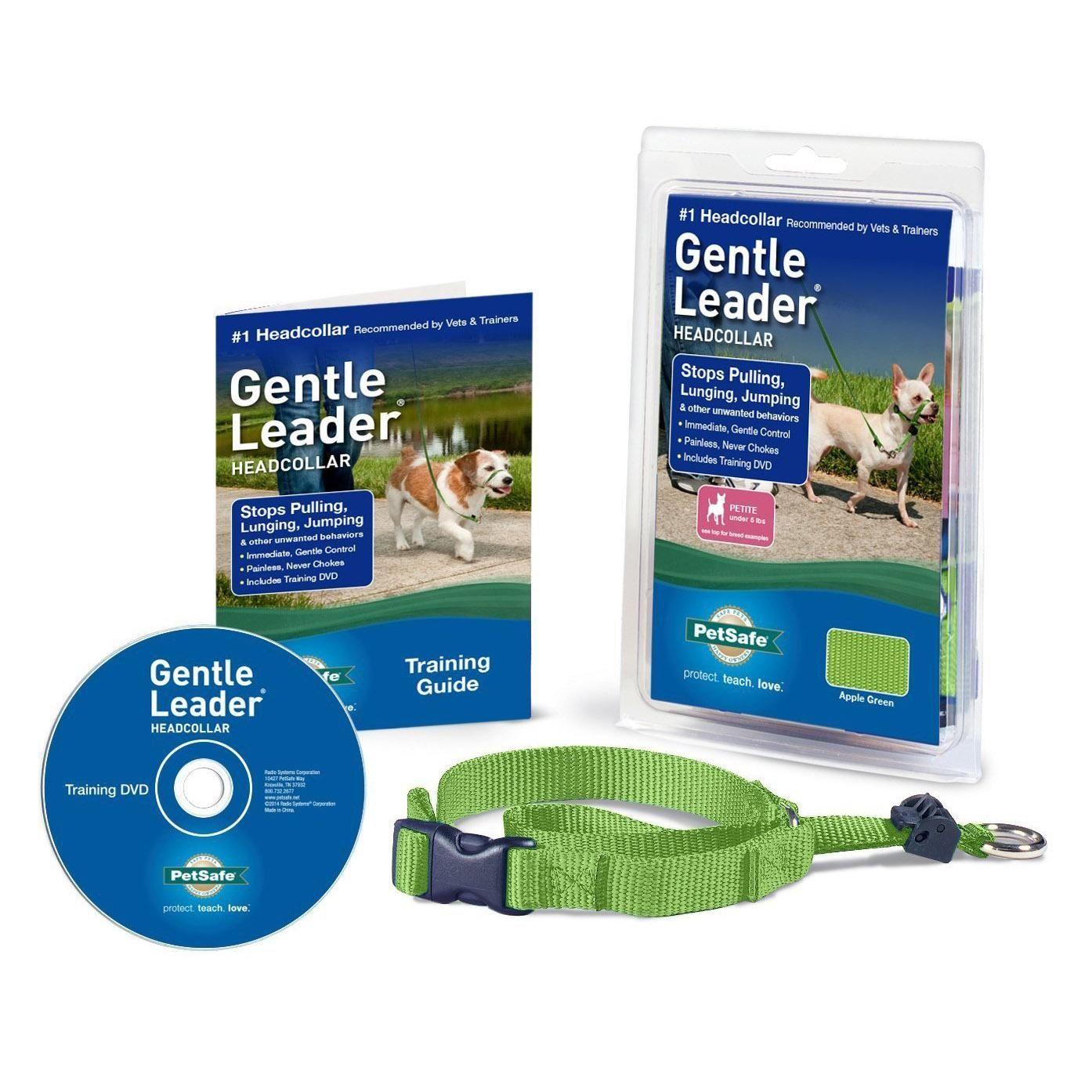 Gentle leader headcollar apple green gentle leader