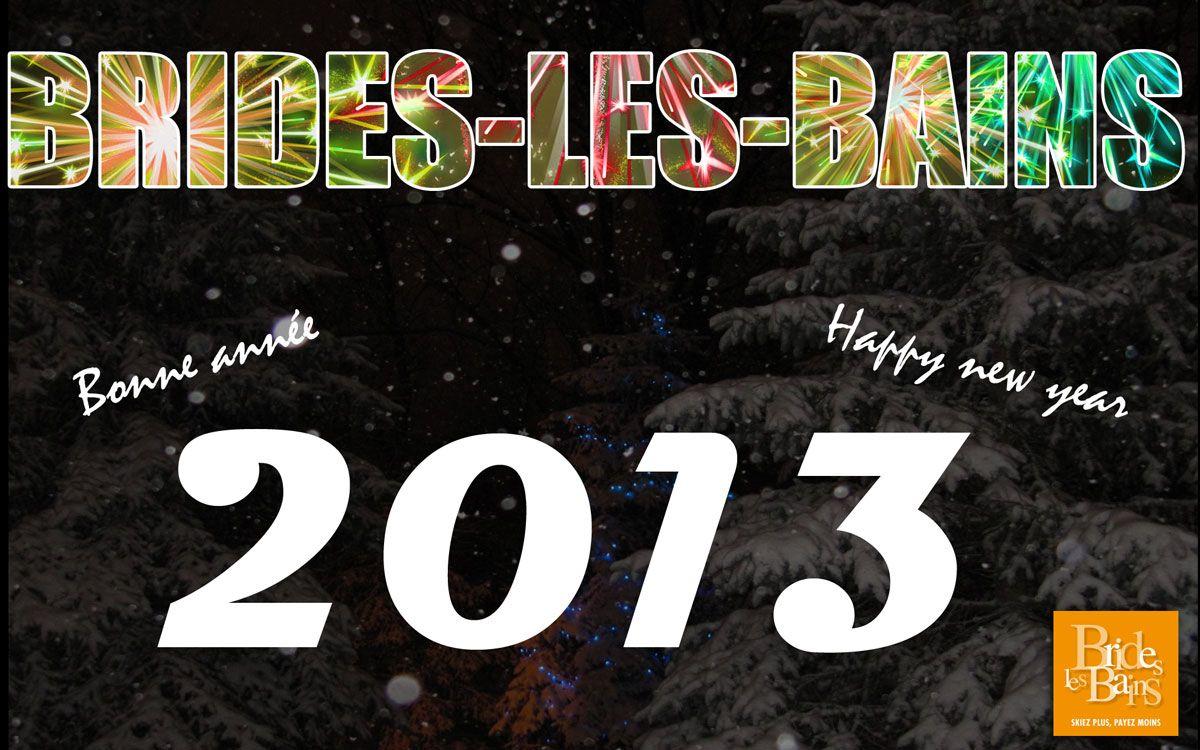 Bonne année - Happy new year - 2013