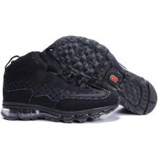 new product 3073d 82f0a Nike ken griffey jr mens air max all black shoes