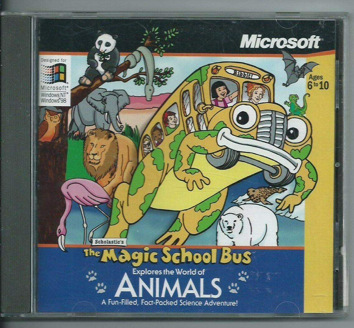 The Magic School Bus Explores World Of Animals Pc