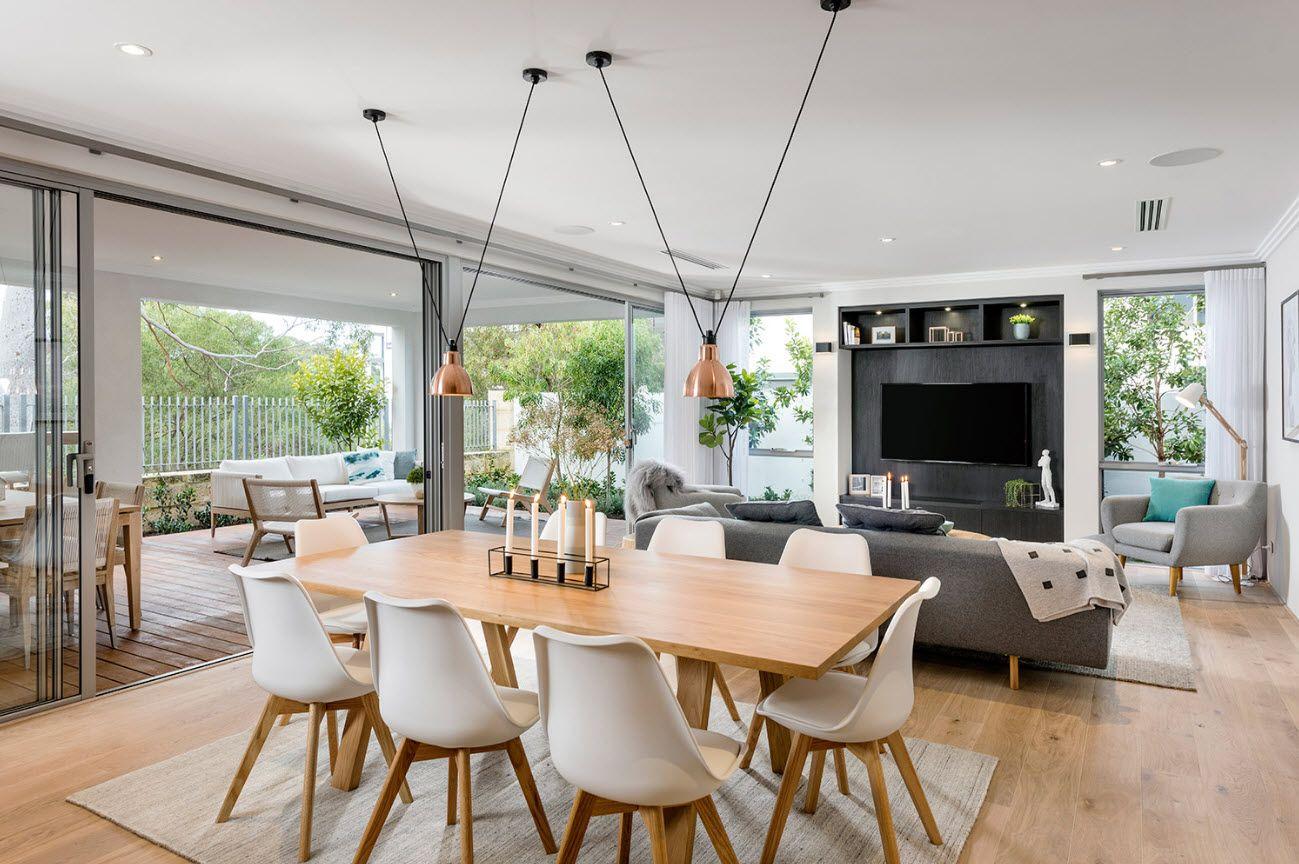 Casa moderna de dos pisos lineas de dise o sencillas y for Casa moderna 7 mirote y blancana