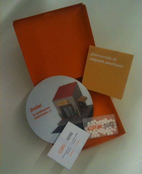 Welcome box by Silvia Hernández Cabrera, via Behance