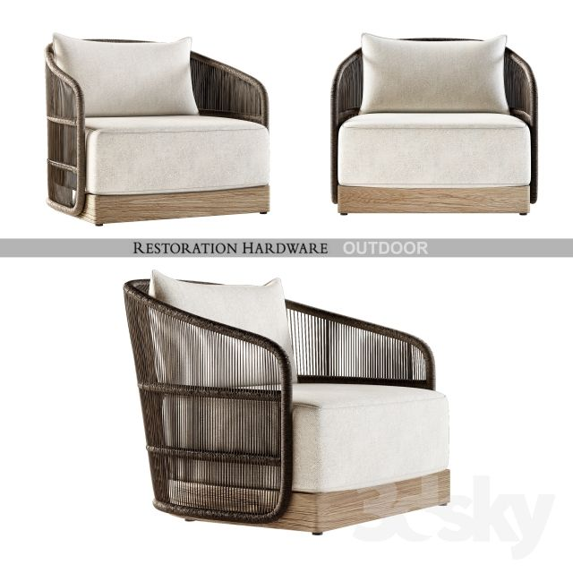 Havana Lounge Chair 3dsmax Balcony Pinterest