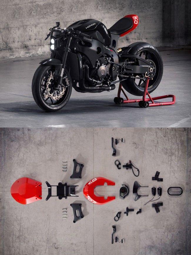 Huge Moto Custom Motorcycle Kit Large Motorcycle Cafe Racer