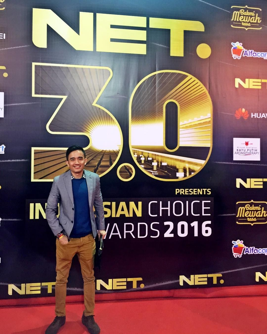 Attending for NET 3.0 anniversary #indonesialebihkece #nettv #anniversary #rizky #founder #brizentertainment by briz_entertainment