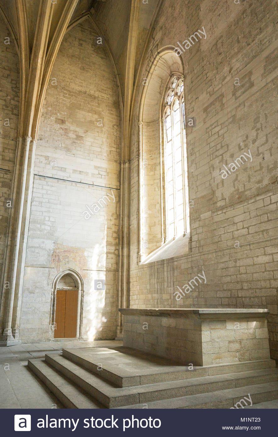 Avignon Un Coin De L Interieur De Salles Du Palais Des Papes Palais Des Papes Ma Maison De Reve Maison