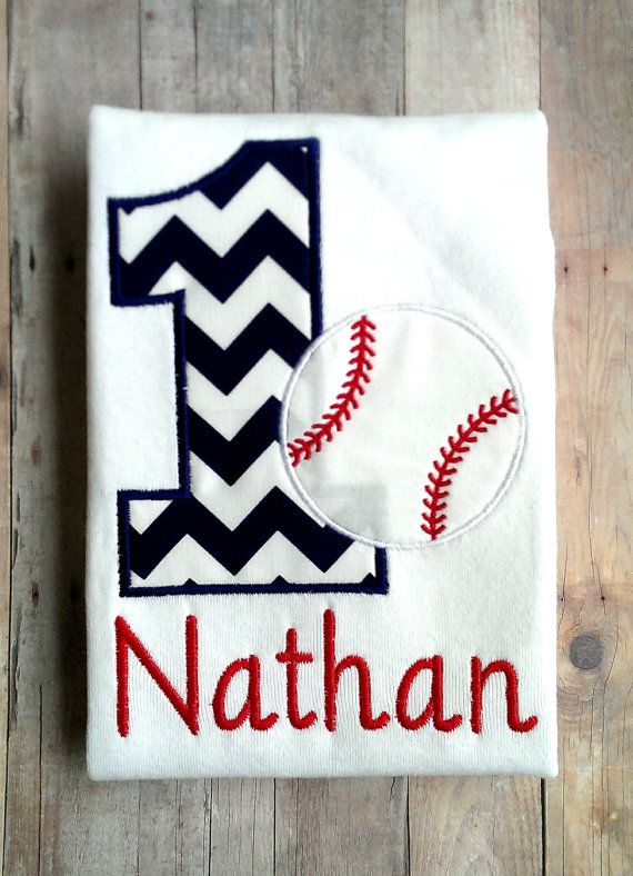 Personalized Baseball Birthday Shirt Sports 1st 2nd 3rd 4th 5th