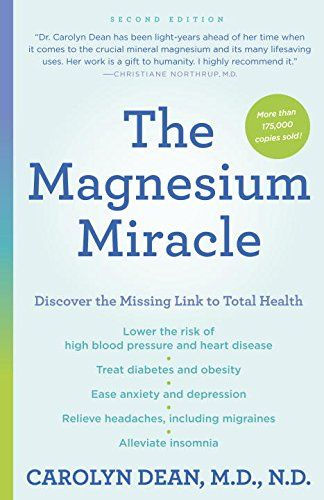 The Magnesium Miracle (Second Edition) by Carolyn Dean M books - sample asthma action plan