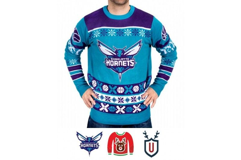 b112d3a3ed8 Klew Teal Thematic Pullover Ugly Sweater