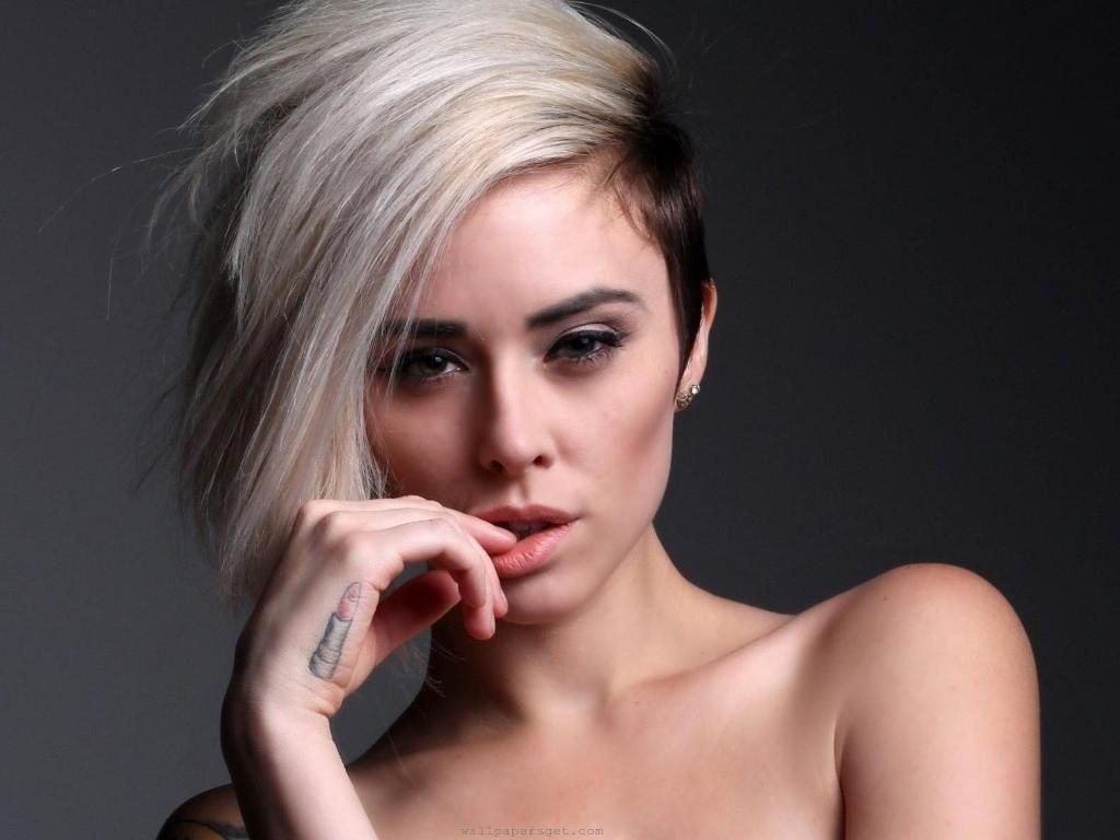 womens hairstyle shaved sides long top | hair!! | pinterest