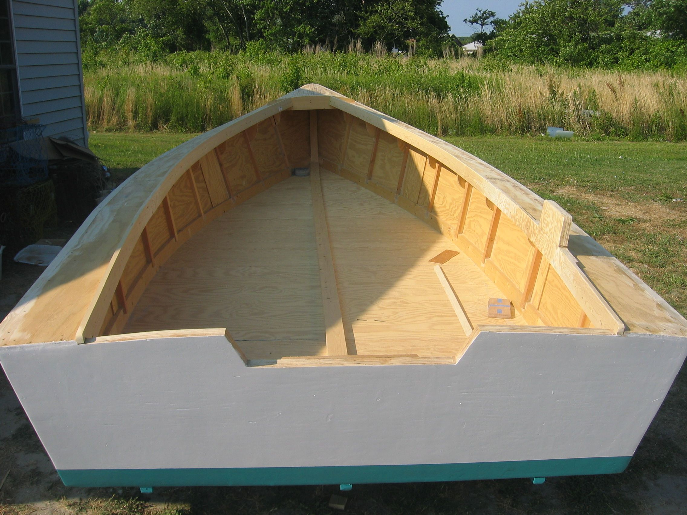 clam skiff - Google Search   power skiff   Wooden boats, Boat, Boat building