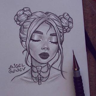 Petit portrait esquisse ~ 🤓✨ Inspiré par Ani S.y ... - #ani #cash #inspired #portrait #sketch -
