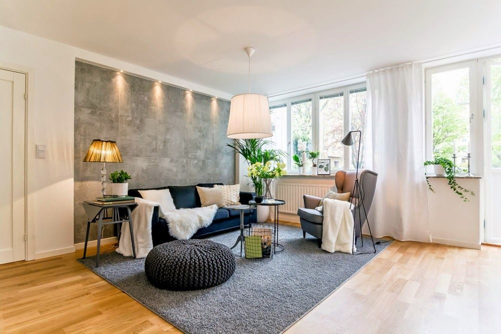 Discover The Location Of The Decor: THE KINDNESS IN GREY AND WHITE