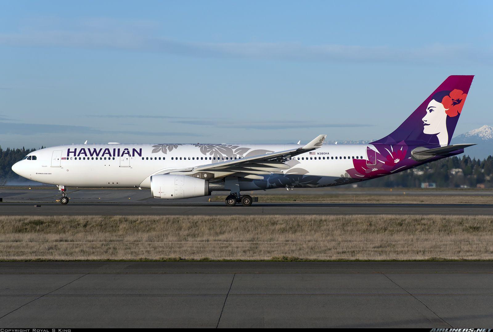 Airbus A330 243 Hawaiian Air Aviation Photo 5359653