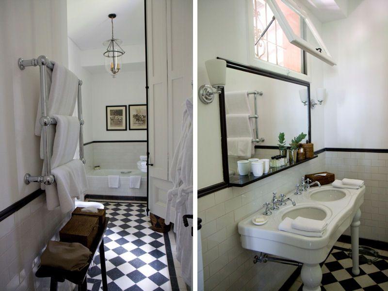 rnovation salle de bain - Carrelage Damier Noir Et Blanc Salle De Bain