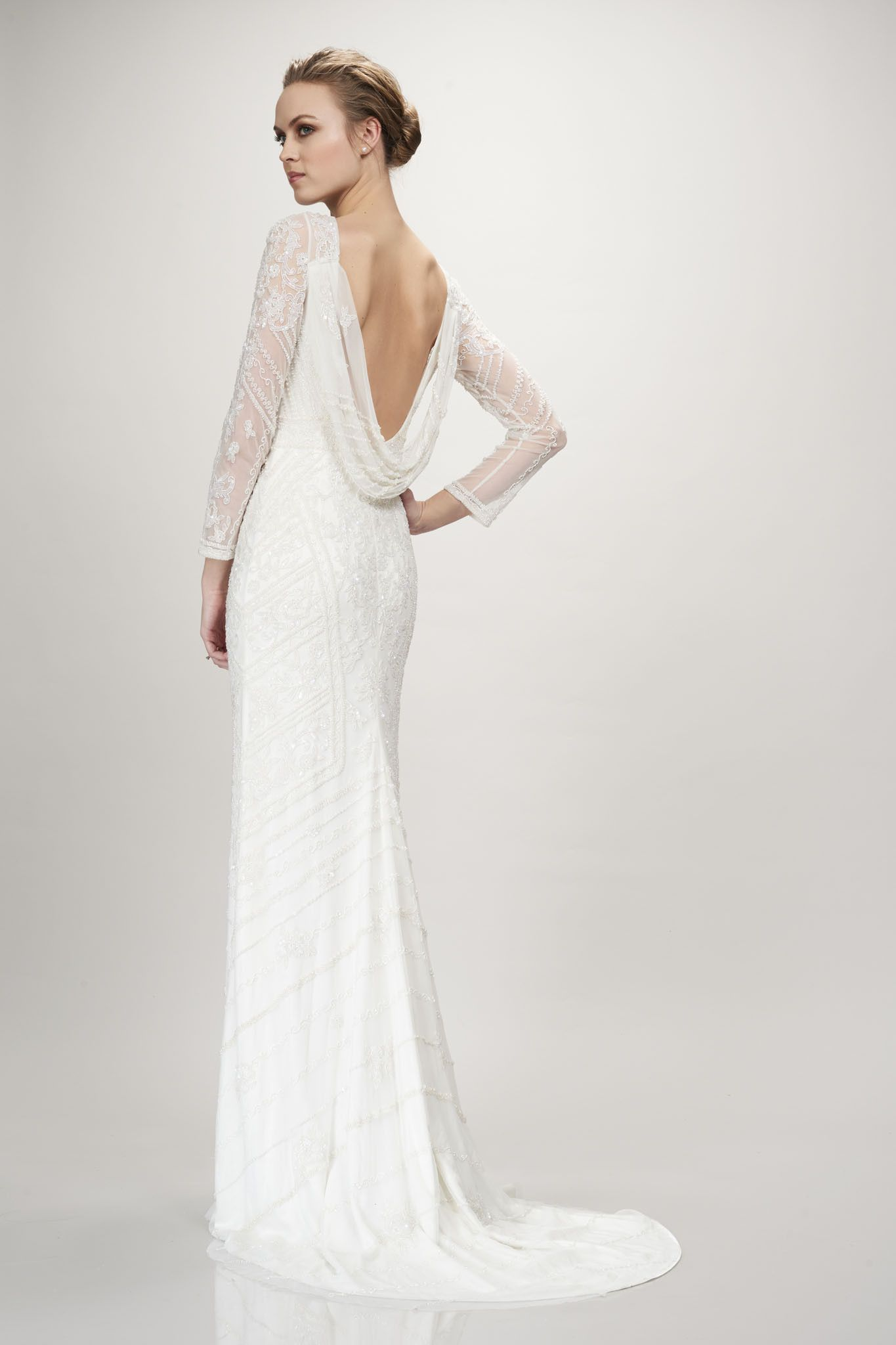 7ffc81c3f06 Karina by Theia Couture available at The Bridal Atelier