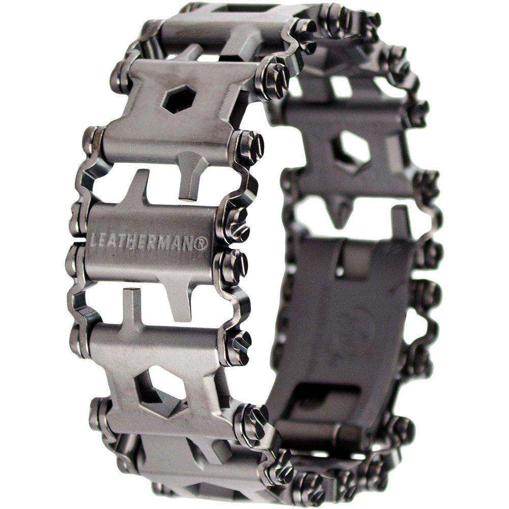 Amazon.com: Leatherman Tread Bracelet - The Travel Friendly Wearable Multi-Tool, Black: Home Improvement