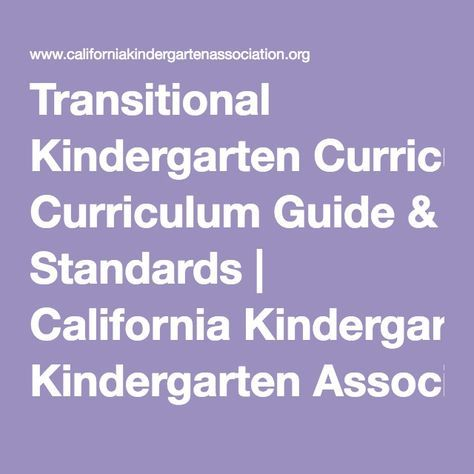 3db9de1726713c686b7406a2f3f5b7b0 - California Kindergarten Standards