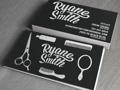 Stylist business cards cartes de visita visita e carto nice hair stylist business cards reheart Choice Image