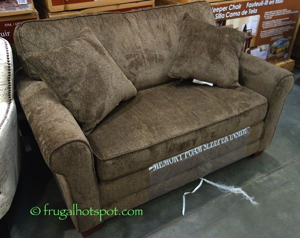 Synergy Home Twin Fabric Sleeper Chair. #Costco #FrugalHotspot                                                                                                                                                                                 More