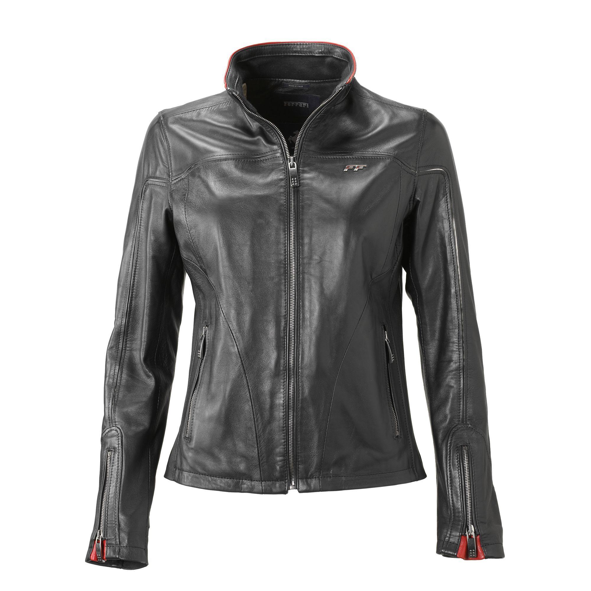 3334f5c73e7fc0 Ladies Ferrari California T Leather Jacket