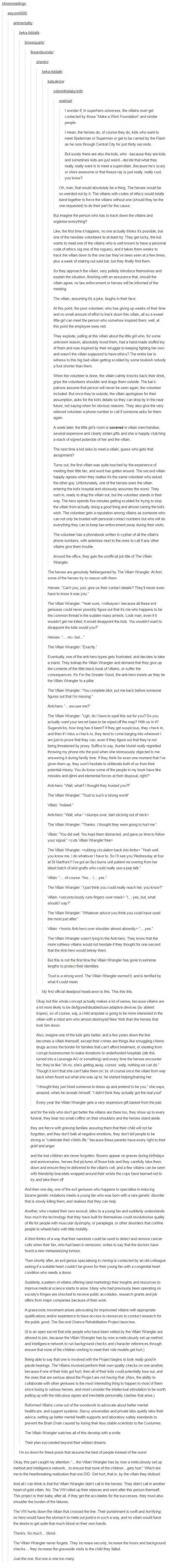 The Villain Wrangler   supervillains post   Writing prompts ...