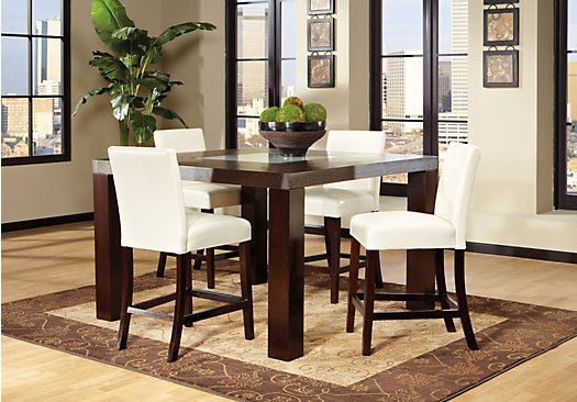 shop for a marsdale ivory 5 pc dining room at rooms to go on rooms to go dining room furniture id=62574