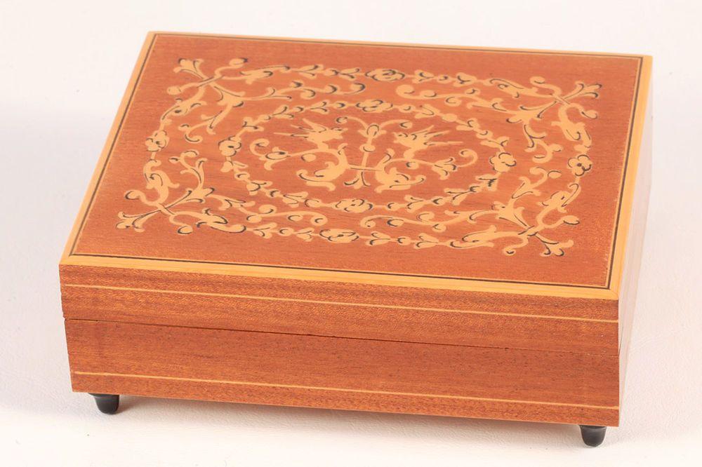 37+ Italian inlaid wood jewelry box information