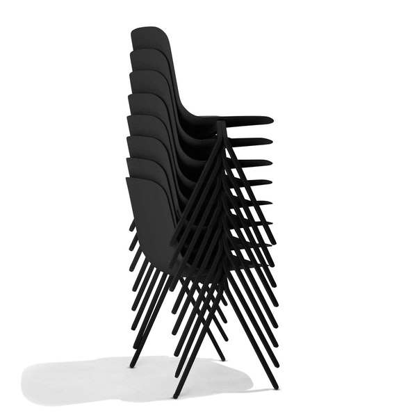 Black Key Side Chair Set Of 2 Office Chairs Poppin Side Chairs The Black Keys Chair