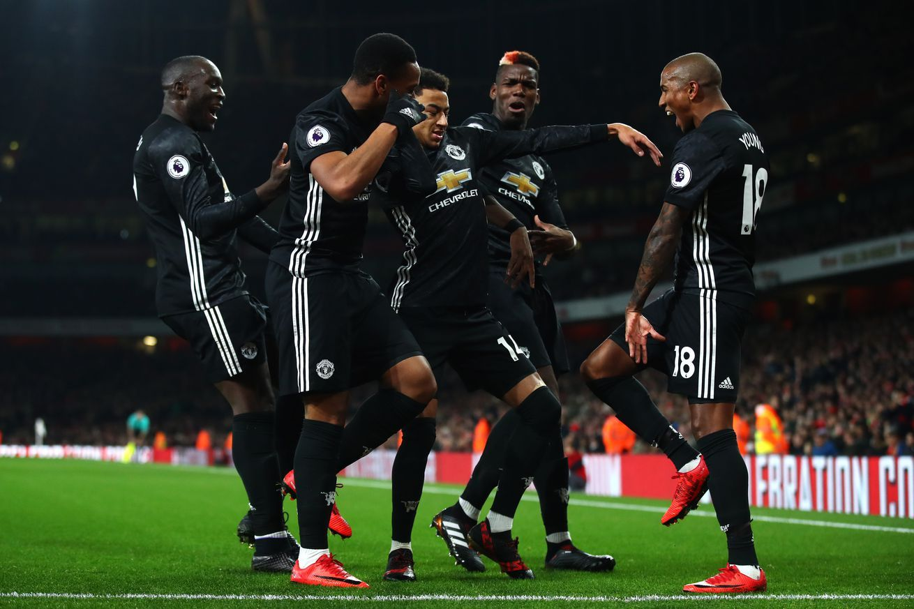 Video Arsenal 1 3 Manchester United Highlights Manchester United Manchester United Premier League Manchester United Team