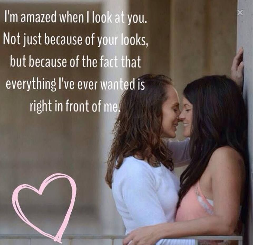Sweet Lesbian Love Quotes So True  Love  Pinterest