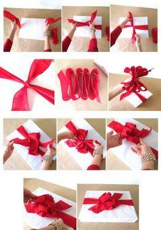 diy ribbon bows - Google Search | PACCHETTI | Pinterest | Diy bow ...