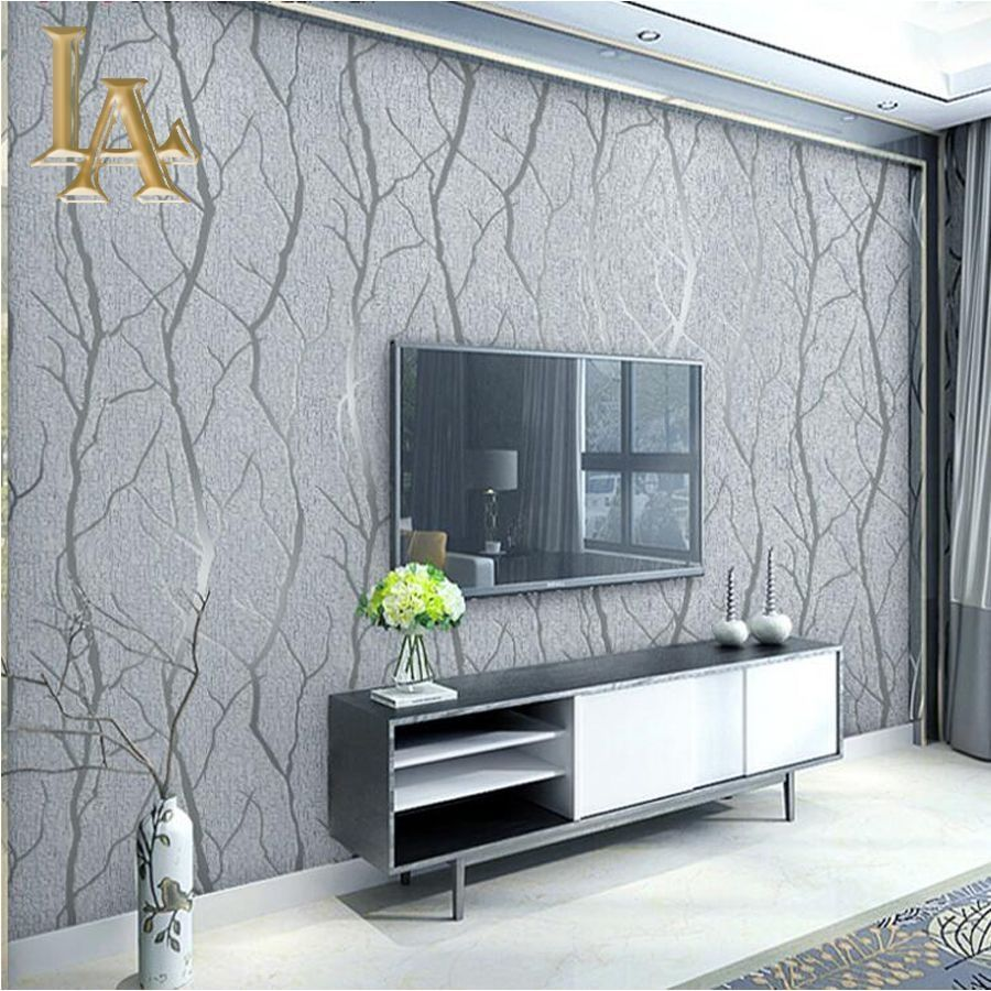 Nice 75 Unique Wallpaper Background Ideas For Your Bedroom Https De Wallpaper Living Room Accent Wall Accent Walls In Living Room Tree Wallpaper Living Room