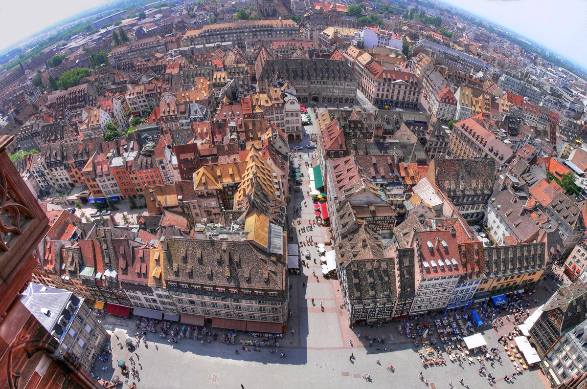 Secretsofeurope View From Strasbourg Cathedral France Avec