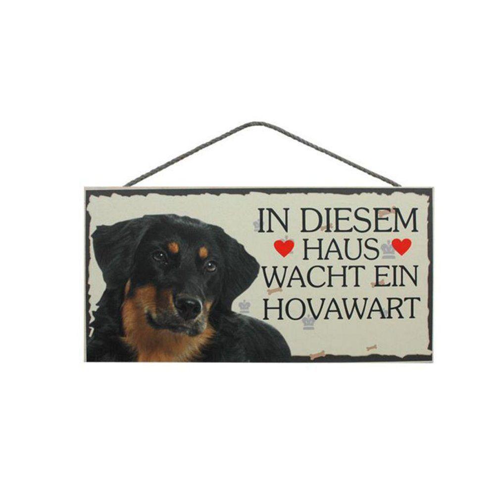 Tierschild Hund Holzschild Türschild Hovawart Wandschild