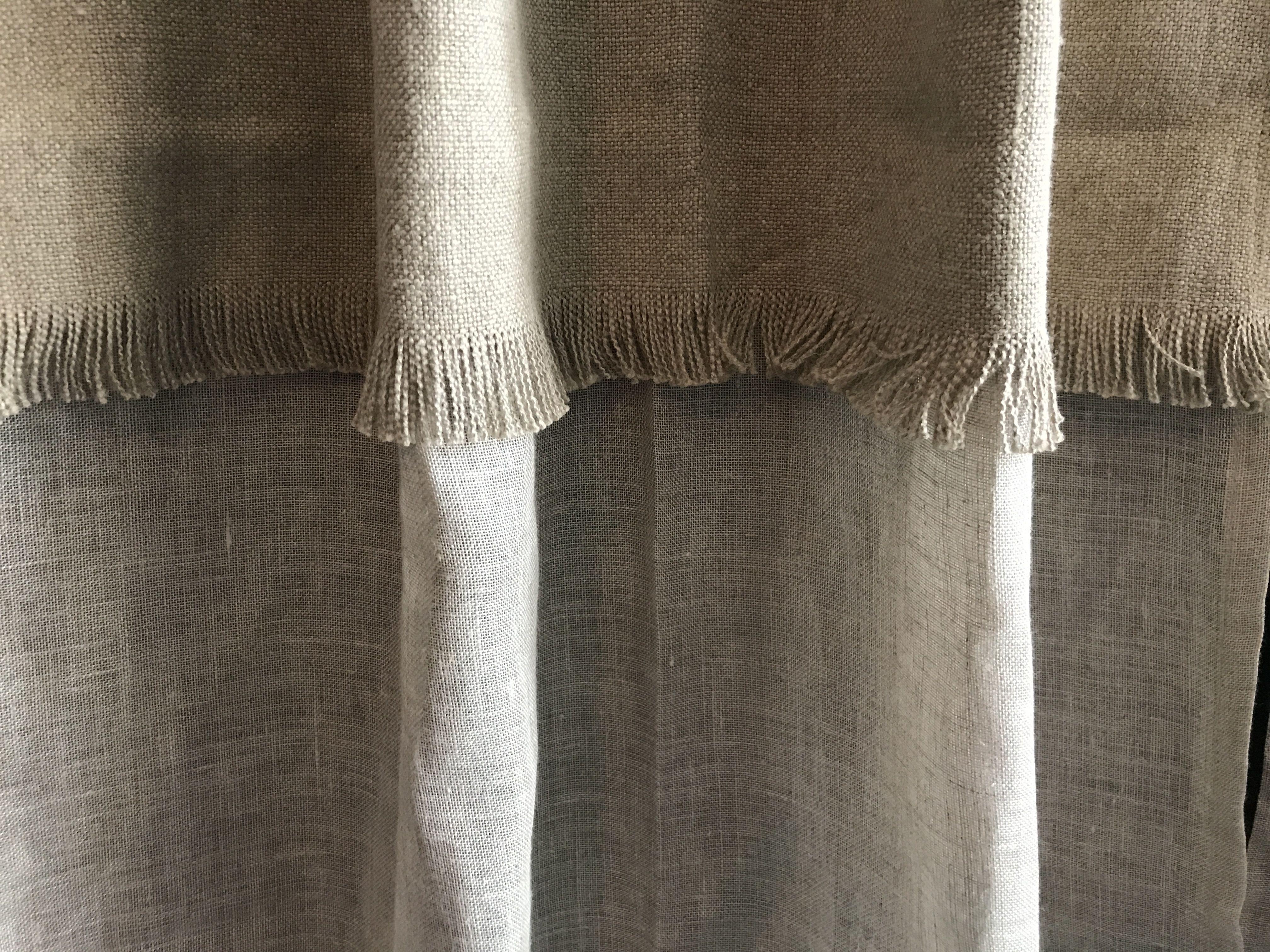 Création De Rideaux Originaux rideaux sur mesure apache 2 grande largeur 280 cm en voile